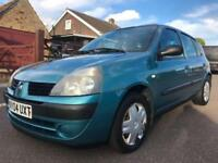 2004 RENAULT CLIO 1.2 16V EXPRESSION 5DR MANUAL