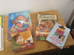 Bed Time Stories and Disney Books - Moving Sale