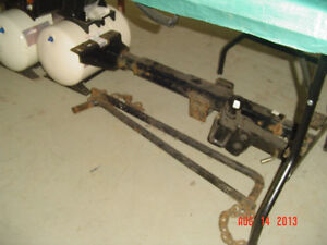 TRUCK HITCH&SWAY BARS
