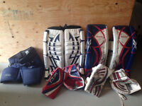 Used Goalie Equipment For sale