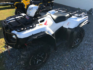 2015 HONDA 500 RUBICON DELUXE FOOT SHIFT