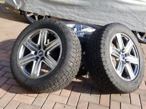 """2019 OEM 20"""" FORD F-150 Lariat factory wheels/tpms & Tires. NEW"""