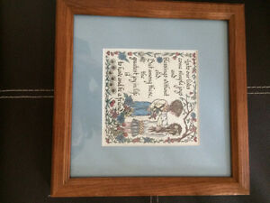 Framed creative calligraphy Windsor Region Ontario image 2