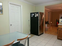 Updated 2 Bed, 1 Bath, upstairs house suite with 350 sqft deck