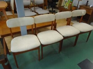 MCM TEAK DINING CHAIRS REVIVAL SHOP 722
