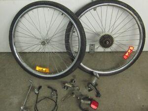 Pieces et accessoires de bicyclette