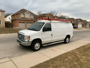 FORD 2009 SERIES E250 CARGO VAN FOR SALE $8750
