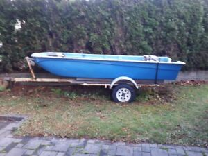 12 ft Boat with Trailer