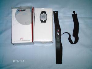 FTI POLAR Heart Rate Watch & Belt Monitor