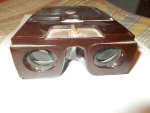 vintage stereo camera made in Germany with kodak slide viewer