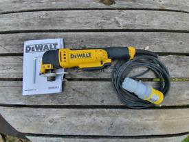 DeWalt dwe315 110v muti tool with 110v transformer