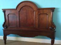 Beautiful antique headboard