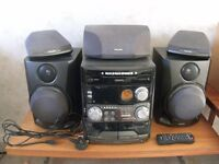Philips pro logic 3 disc surround sound mini hifi
