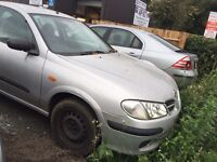 Nissan Almera auto selling as spears and repair