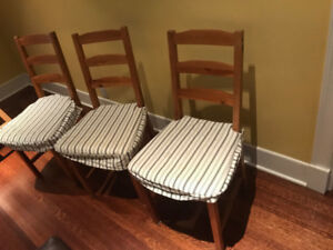 used IKEA INGOLF Chairs for sale