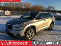 2015 Toyota Highlander LIMITED   One owner, no accidents, every