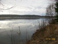 Waterfront cottage for sale-Lake Cayamant, Qc.