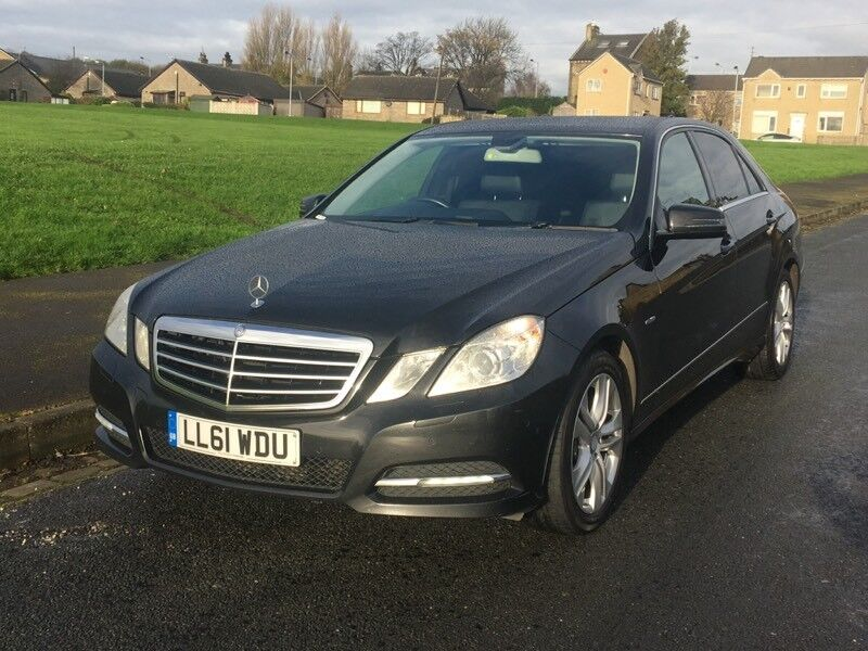 MERCEDES E220 EXECUTIVE BLUE-EFFICIENCY START/STOP 2011/61 REG,7Gear AUTO,FULLY LOADED,HPI CLEAR
