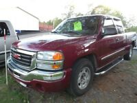 2004 GMC Sierra extended cab 110,000kms