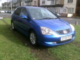 Honda Civic 1.6i VTEC ( 16in Alloys ) Executive