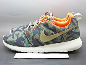Nike Roshe Run ( Olive Tiger Camo ) - Mens 10.5