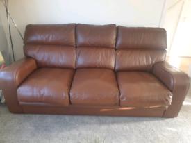 G Plan Leather Sofa