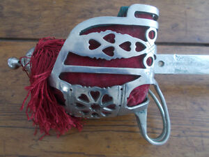 Épée antique écossaise WW1/WW1 antique scottish sword