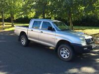 2006 Mitsubishi L200 double cab pickup 4work