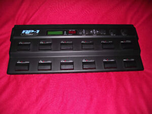 Pedal Board Digitech RP-1 Multi Effect's Pedal for Guitar