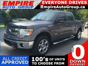 2014 FORD F-150 XLT * 4WD * SUNROOF * REAR CAM * LIKE NEW
