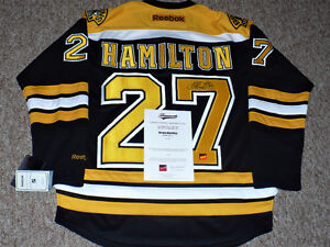 Dougie Hamilton autographed Boston Bruins Jersey New with COA