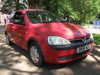 Vauxhall/Opel Corsa 1.0i 12v 2002 CHEAP INSURANCE CHEAP ROAD TAX