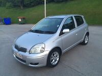 **TOYOTA YARIS COLOUR COLLECTION VVT-I 1.3 PETROL 5DR (2005 YEAR)**