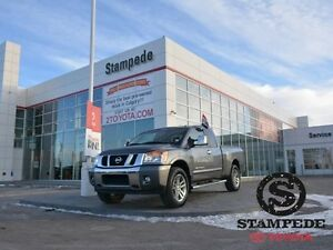 2013 Nissan Titan 4WD KING CAB SL W/LEATHER AND NAVI