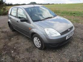 2002 Ford Fiesta Mk6 1.4 LX Petrol Manual 5 Door Hatchback Silver