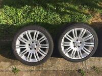 Mercedes original Alloys 18 size