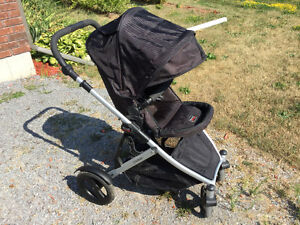 Britax B-Ready Stroller with Second Seat and Car Seat Adapter