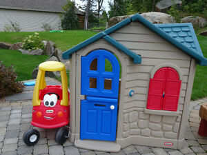 Maisonette Little Tikes et voiture Little Tikes