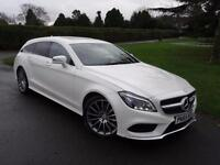 MERCEDES CLS CLASS CLS220 AMG LINE PREMIUM PACK SHOOTING BRAKE 2015/65