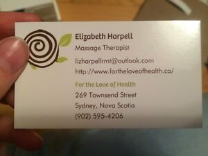 Massage therapist, accepting new clients!