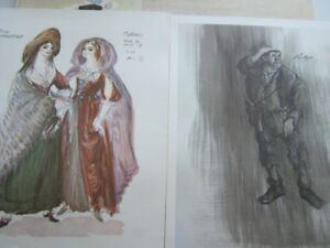 SOUVENIR COLLECTION OF COSTUME DESIGNS STRATFORD  FESTIVAL
