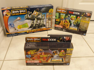 3 ANGRY BIRDS STAR WARS ACTIVITY SETS