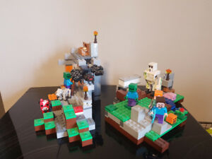 Lego Minecraft 21113 + 21123