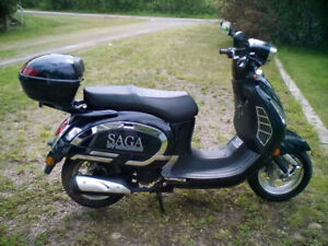 150CC DELUXE SAGA SCOOTER ONY $1899.00!