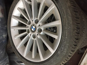 Continental BMW  tires and rims