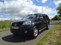 2012/62 GREAT WALL STEED 2.0 TD SE PICKUP 4X4 4DR BLACK - NO VAT TO PAY +