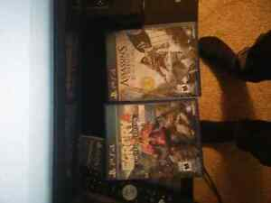 Farcry 4 and Assassins Creed Blackflag
