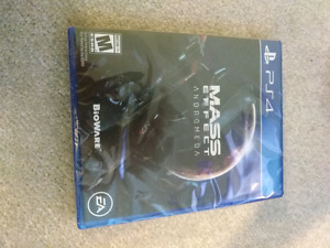 Mass Effect Andromeda PS4 SEALED COPY $30