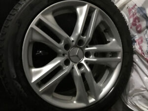 Winter Tires on Mags for Mercedes
