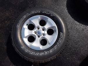5 Bridgestone All Season Jeep Wrangler Tires and Wheels